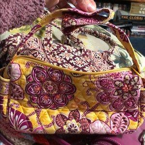 Vera Bradley quilted purse